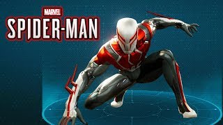 Spider-Man Ps4 - 2099 White Suit Gameplay Showcase