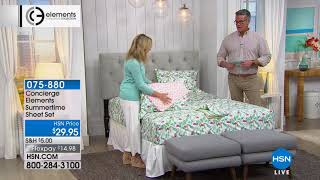 Hsn | Concierge Collection Bedding Celebration 07.27.2018   08 Am