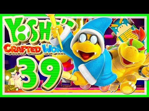 YOSHI'S CRAFTED WORLD # 39 📦 Alle Boss-Challenges! • Let's Play Yoshi's  Crafted World
