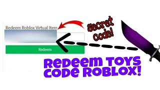 Code roblox toys 2 its very cool