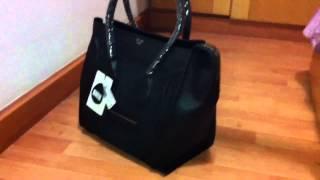 Celine Luggage Leather Tote Bag Black - Tophandbaguk.com Thumbnail