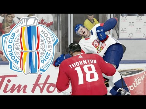 NHL 17 (Xbox One) World Cup Of Hockey - Canada vs Czech Republic (Full Game)