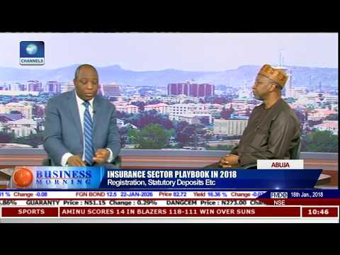 Analysing State Of Insurance Sector With NAICOM Commissioner Kari Pt.4 |Business Morning|