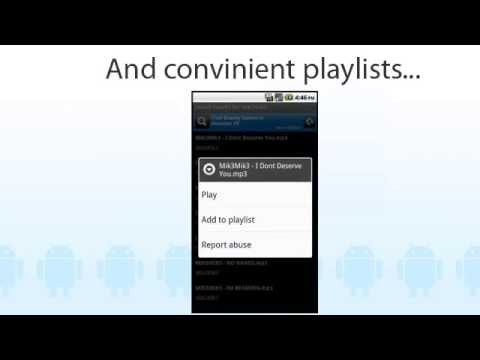 New 4shared Music for Android v102!