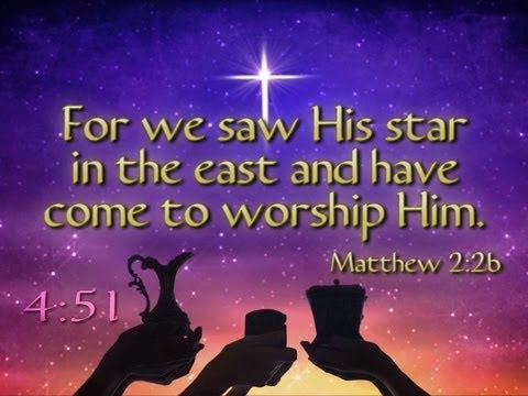 Worship Him Christmas Scripture Countdown - YouTube
