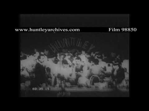 French Women working in factory in the 1900's.  Archive film 98850