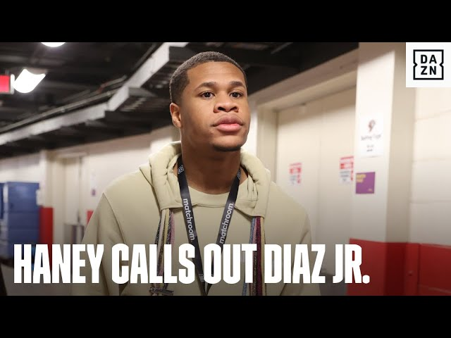 Devin Haney Calls Out JoJo Diaz Jr.