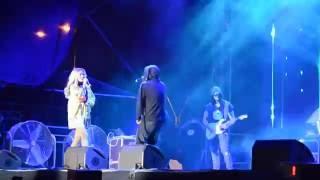 Carla's Dreams si Delia live Bucuresti 03.06.16