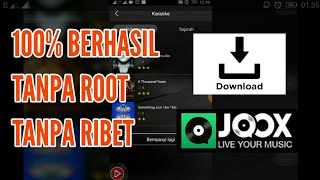 [1.82 MB] Cara download hasil rekaman KARAOKE aplikasi JOOX