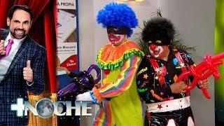 Robo en el banco con Chuponcito | + Noche | Distrito Comedia