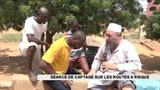 Séance de captage sur les routes à risque de Niamey (Reportage Canal 3 Niger)