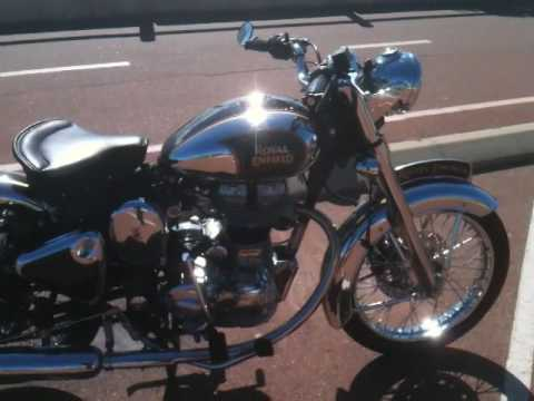 my Custom Royal Enfield C5