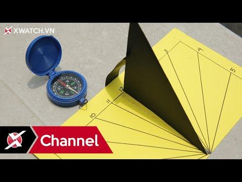 Hướng dẫn làm đồng hồ mặt trời – Xchannel