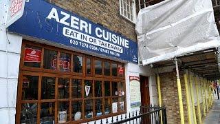 Lady Gaga, Hari Krishnas and Ilham Aliyev down at Azeri Cuisine on Caledonian Road, Islington.