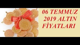 06,07,2019 Altın Fiyatları Dolar Fiyatları Euro Ne Kadar Sterlin Kaç Lira