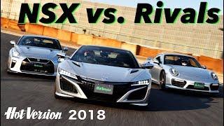 〈ENG-Sub〉新型NSX vs.ライバル 筑波サーキットバトル【Best MOTORing】2018
