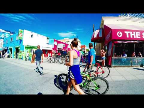Venice Beach California Walk through