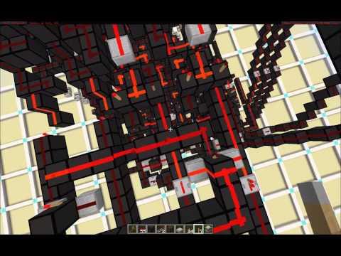 Minecraft Tech Redstone 16 Segment Display 2 0 By Koala Steamed