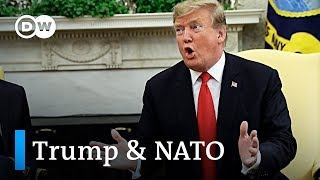 Trump lashes out at Germany over military budget | DW News
