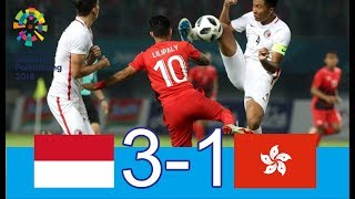 Download Video Indonesia Vs Hongkong U-23 Full Highlights Asian Game 2018 HD MP3 3GP MP4