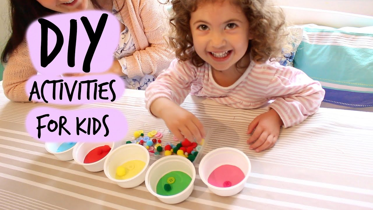 three fun inexpensive diy learning activities for small children youtube - Small Children Images