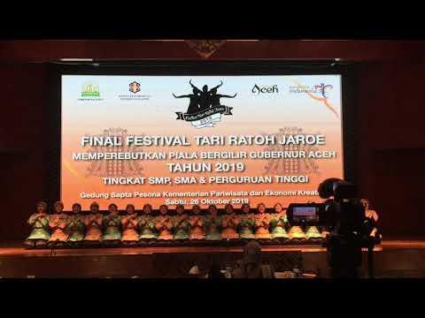 Ratoh Jaroe SMAN 90 Jakarta [Final Piala Bergilir Gubernur Aceh 2019]