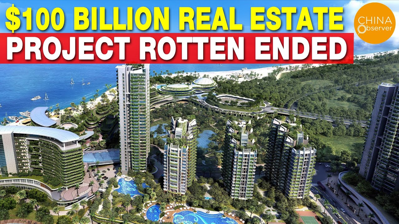 100 Billion USD Real Estate Project Rotten-ended, Crisis Behind the Top-Selling Real Estate Company