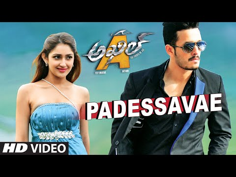 Padessavae Video Song || Akhil-The Power Of Jua || AkhilAkkineni,Sayesha