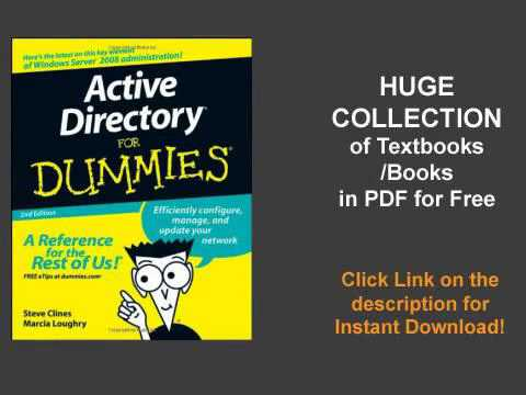 Active Directory For Dummies - YouTube