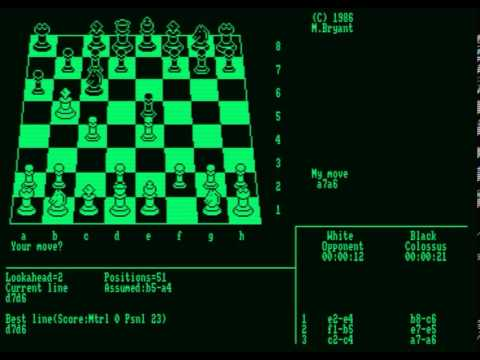 Colossus Chess 4 (Amstrad PCW)