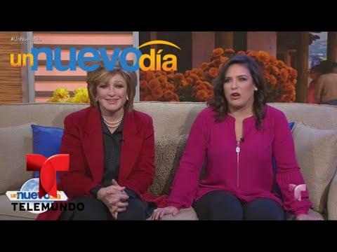 Angélica María y Angélica Vale, ¡juntas y felices! | Un Nuevo Día | Telemundo