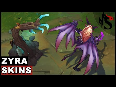All Zyra Skins Spotlight (League of Legends)