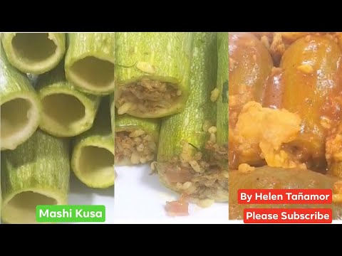 Download الكوسا مع اللحم والأرز How to cook zuccine with rice and meat or Mashi Kusa or Mashi Squash❤️