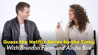 13 Reasons Why Cast Members Guess the Netflix Series by the Emoji