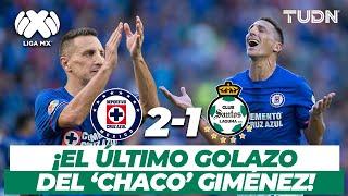 ¡El último golazo del 'Chaco' Giménez con Cruz Azul! | Cruz Azul 2-1 Santos | AP-2017 | TUDN