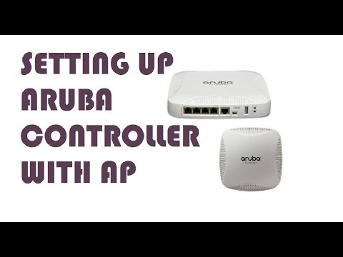 How To Setup Aruba Controller With AP(Step-By-Step Guide)