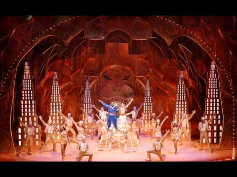 My expierience seeing Disney's ALADDIN Broadway's New Musical Comedy!
