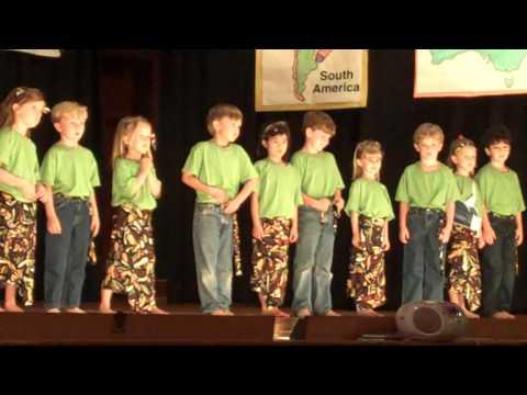 Calvert School 6 Age class African Dance