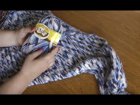 Вязание рукава летучая мышь спицами начало вязания от рукава