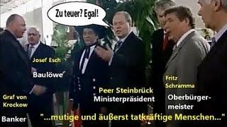 """Peer Steinbrück, Oppenheim und der """"heilige Josef"""" Esch"""