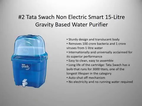Best Water Purifiers for Home in India - 2016 | Complete Review Guide