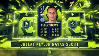 A CHEEKY KEYLOR NAVAS POTM! - FIFA 21 Ultimate Team