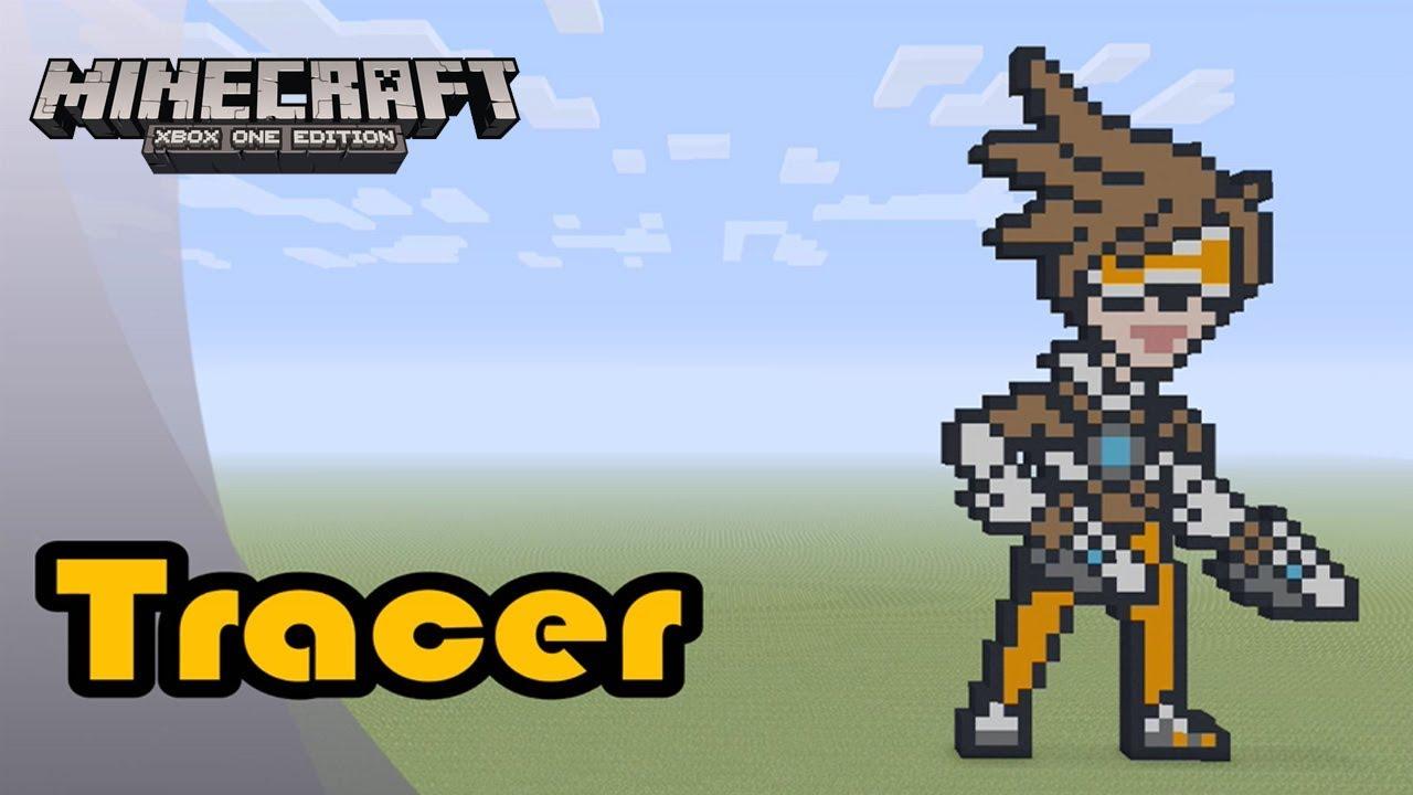 Reinhardt Spray Minecraft Speed Pixel Art By Minecraft Builder