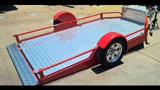 Airbag Drop Deck Trailer