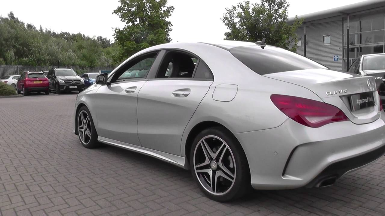 mercedes benz cla class cla 180 amg sport 4dr u25368 youtube. Black Bedroom Furniture Sets. Home Design Ideas