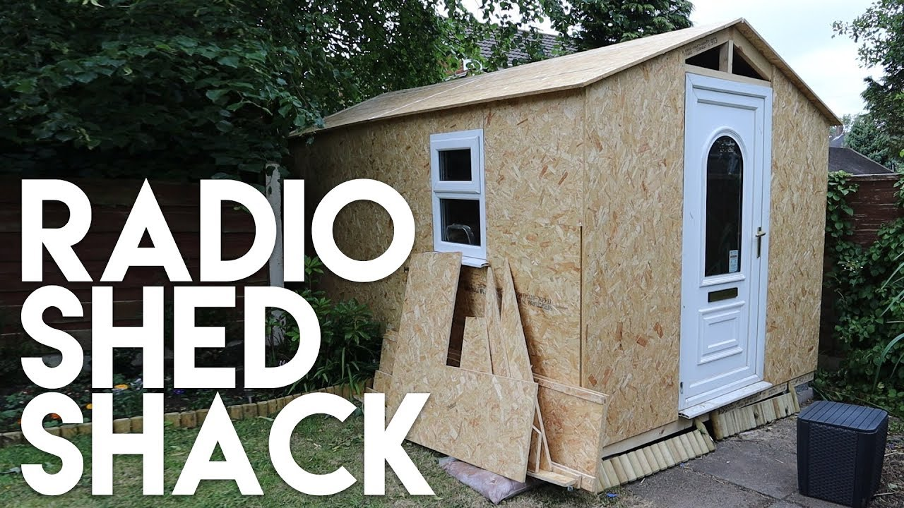 Outdoor Man Shed