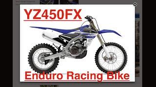 2016 YZ450FX - New 2016 Dirt Bike from Yamaha  - Enduro/Off Road Racing