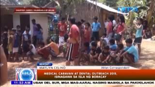 Medical Caravan at Dental Outreach 2015, isinagawa sa Boracay