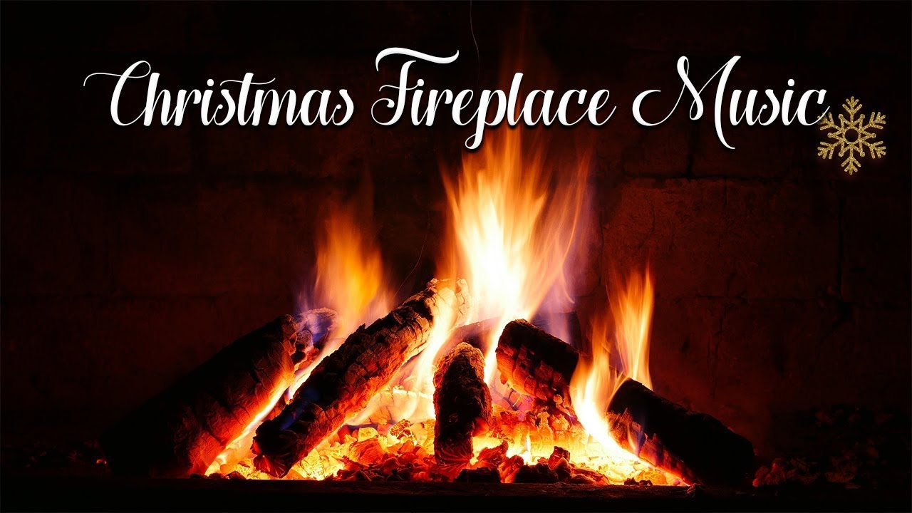 2 Hours Of Instrumental Christmas Music With Fireplace Warmest