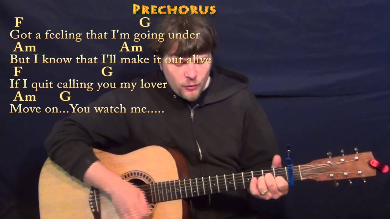 Stitches Shawn Mendes Strum Guitar Cover Lesson With Chordslyrics